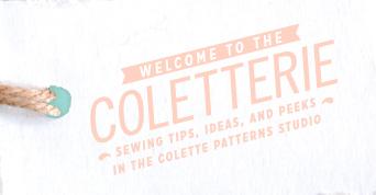 The Coletterie ou plein de conseils de couture et d'idées! (en anglais)