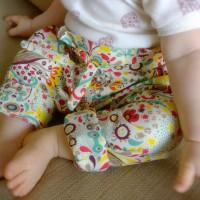 Tuto DIY: Le petit pantalon carotte 6-12 mois