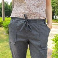 """Le pantalon Moji """"Zero-Waste"""" en fibres recyclées/bio"""