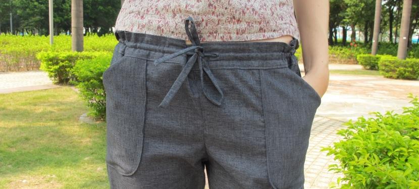 Le pantalon Moji «Zero-Waste» en fibresrecyclées/bio