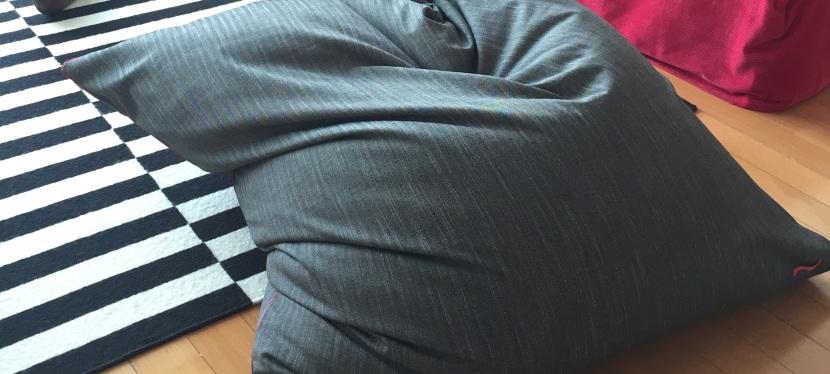 Tuto DIY: Le pouf façon Fatboy®