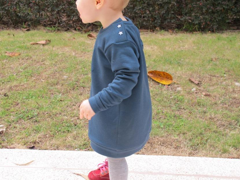 La petite robe-sweatd'hiver