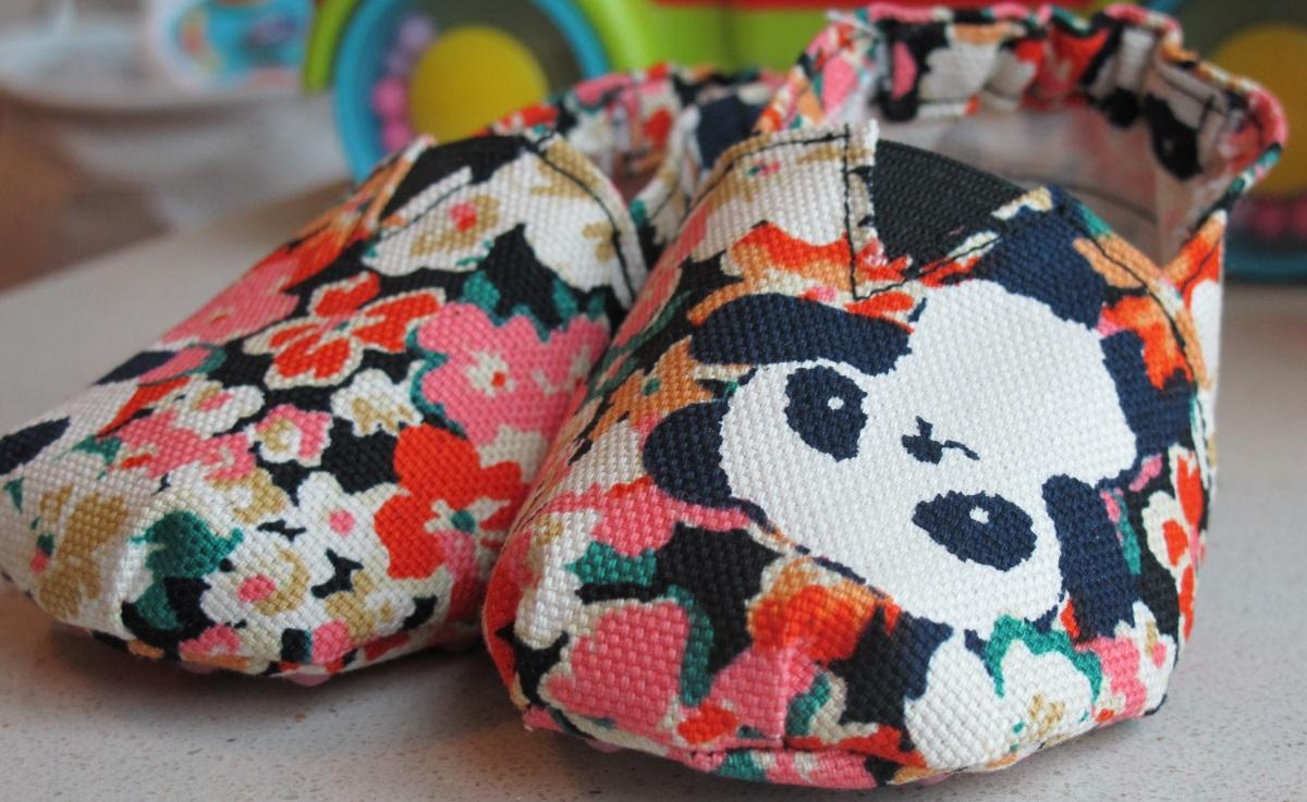 Tuto DIY: Les chaussons bébé façon Toms ®