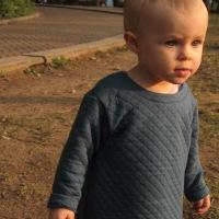 Tuto DIY: La petite robe matelassée en 18 mois