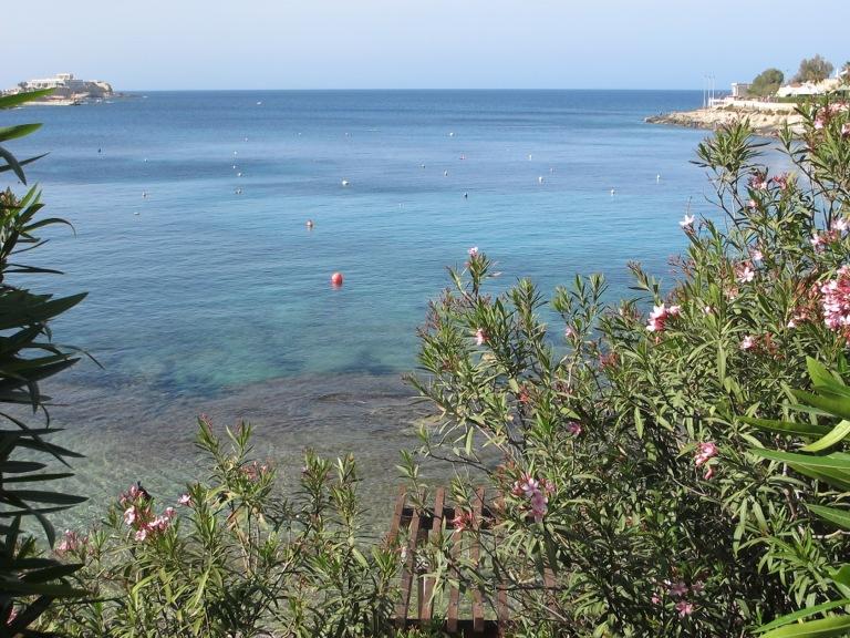 MALTA ST JULIAN BEACH 2