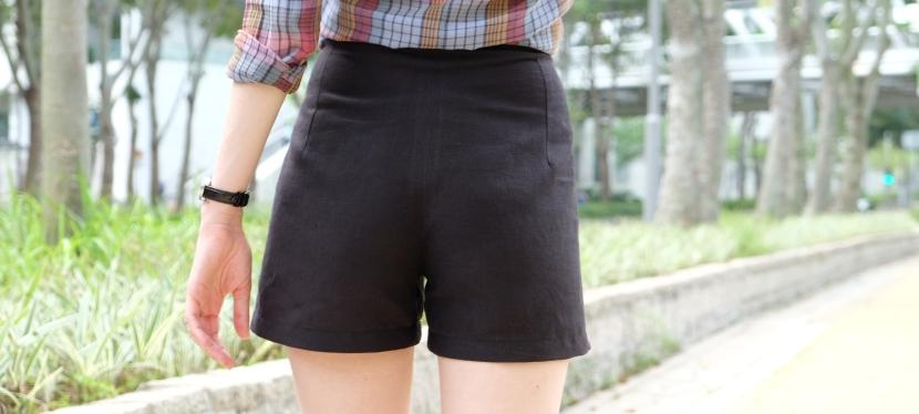 Esther shorts – Versionnoire