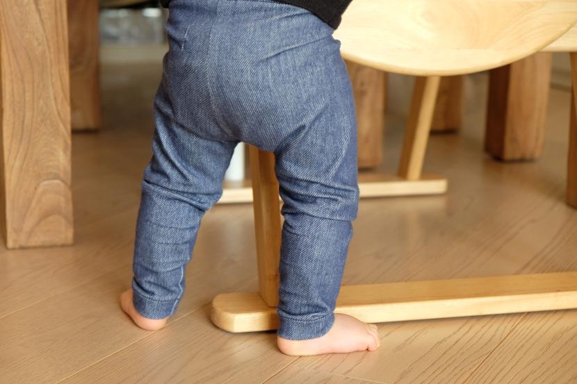 Tuto DIY : Le tout petit leggings «denim» en 12mois