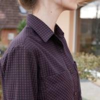 Premier projet pour les tissus Amandine Cha : une chemise Archer
