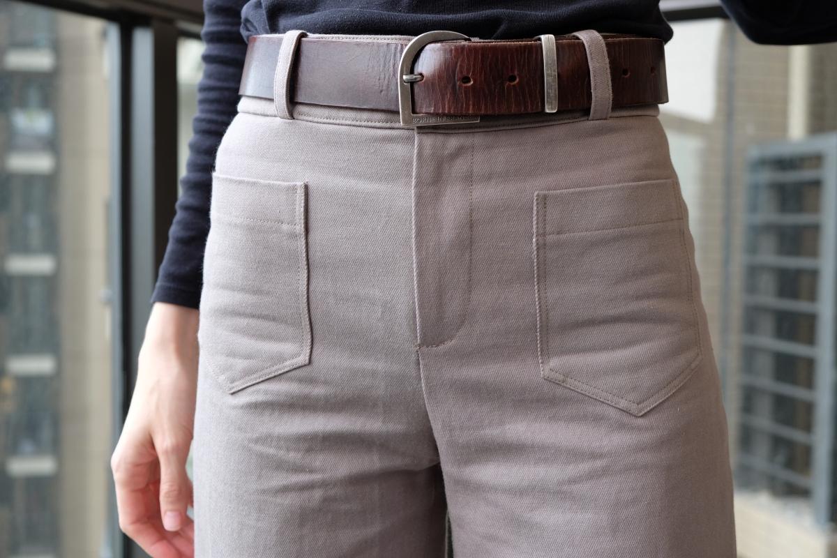 Second projet pour les tissus Amandine Cha : Un pantalon Gaston