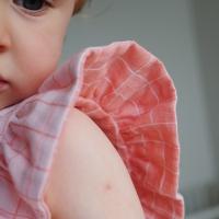 Troisième projet pour Amandine Cha : Une petite robe Colombine