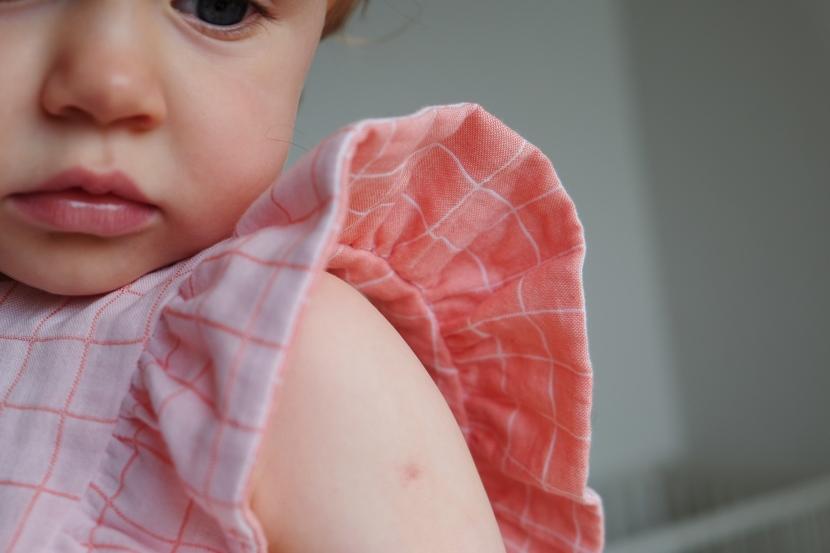 Troisième projet pour Amandine Cha : Une petite robeColombine